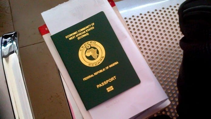 The new cost of International Passport in Nigeria