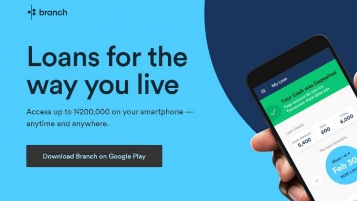 Branch loan app review