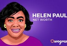 Helen paul net worth