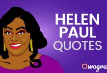 Helen Paul Quotes
