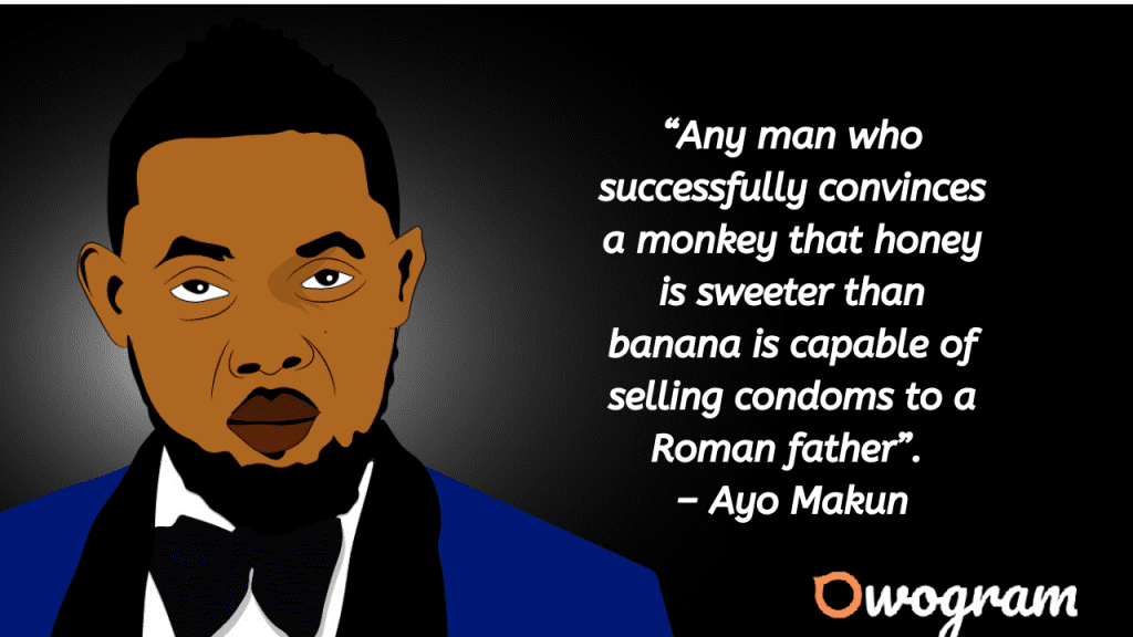 Ayo Makun Quotes about marketing