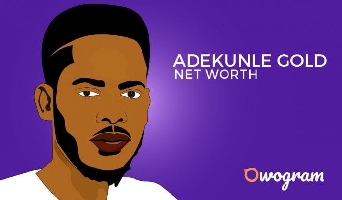 Adekunle Gold Net Worth