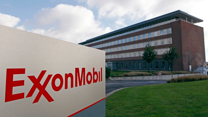 ExxonMobil oil servicing company