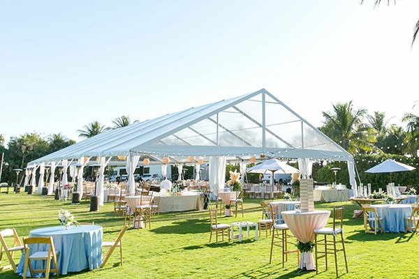 Renting tents for party and occasions