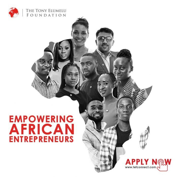 tony elumelu business grants for Nigerians