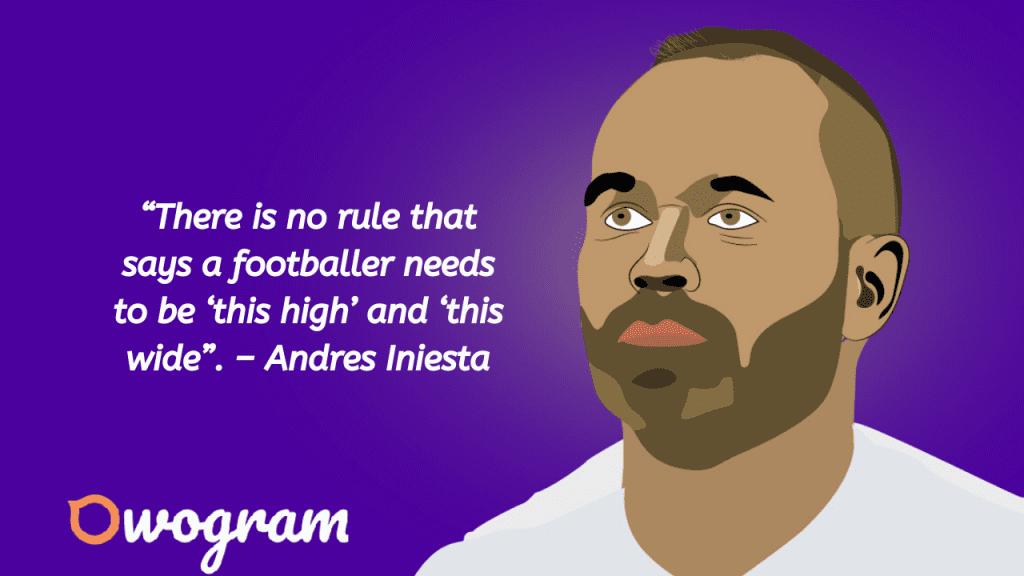 Iniesta sayings