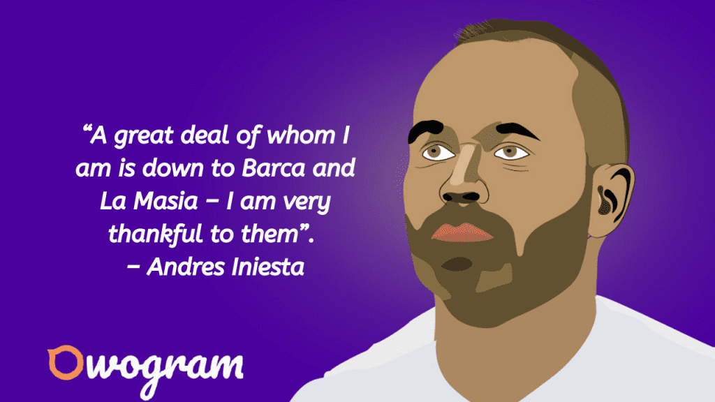 Quotes by iniesta
