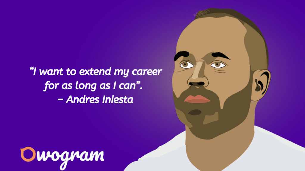 Quotes from Iniesta