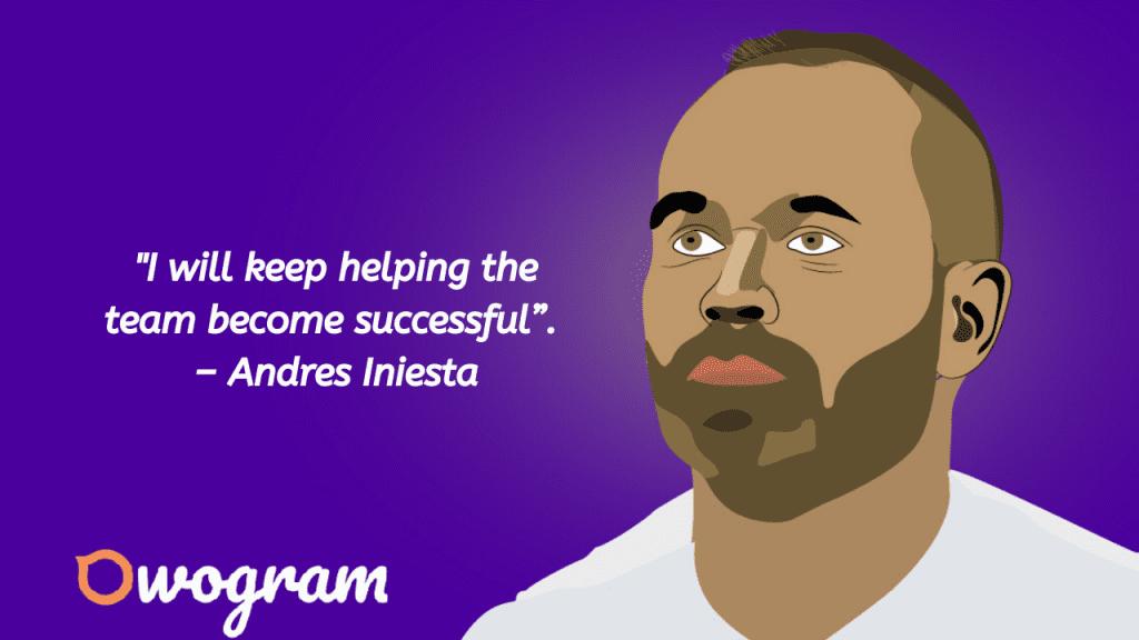 Iniesta wise sayings
