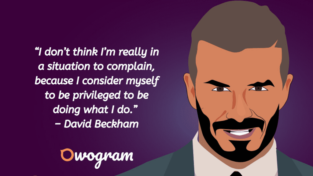 Quotes by David Beckham