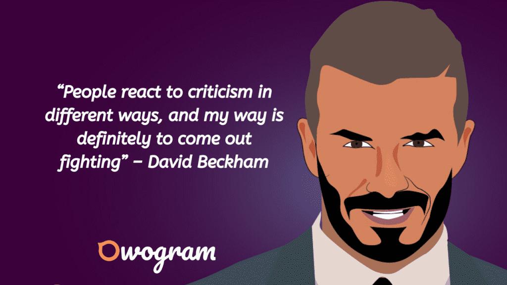 Beckham Quotes