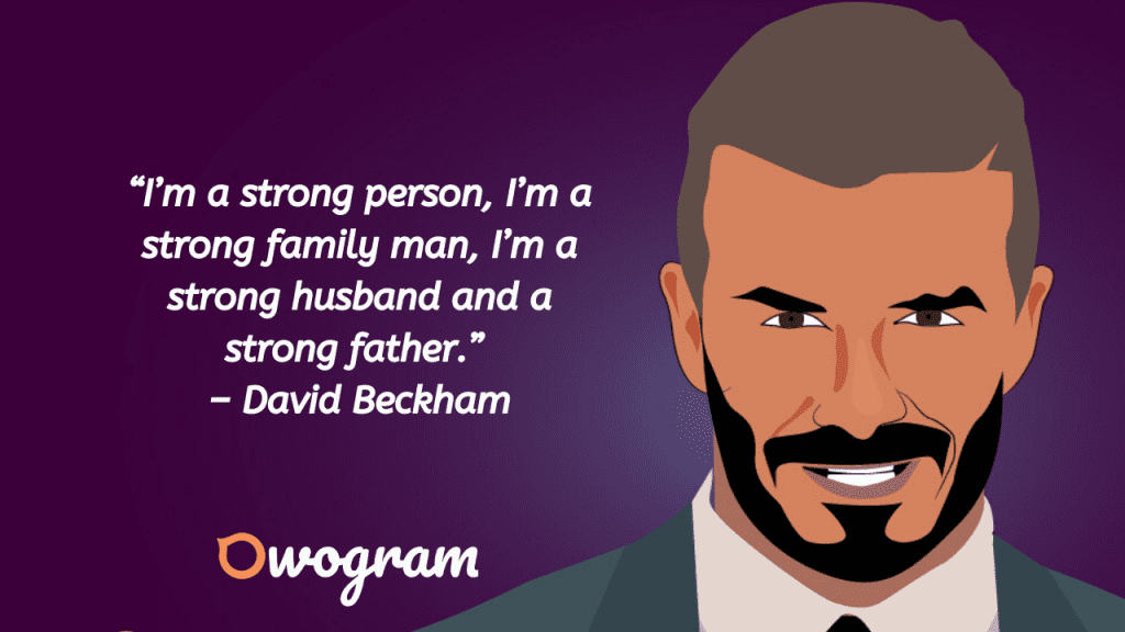 Quotes from Beckham
