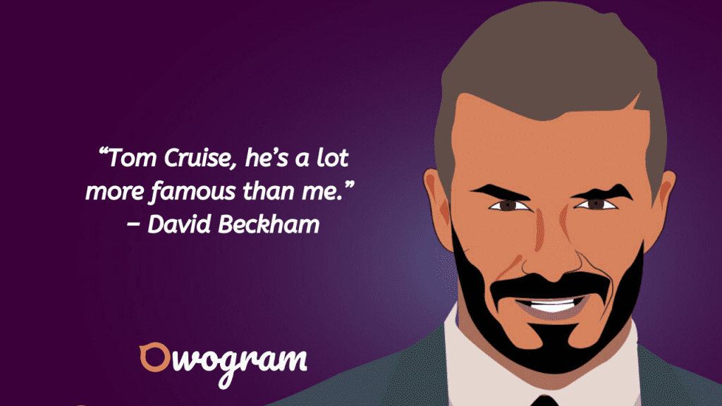 Wise sayings from David Beckham
