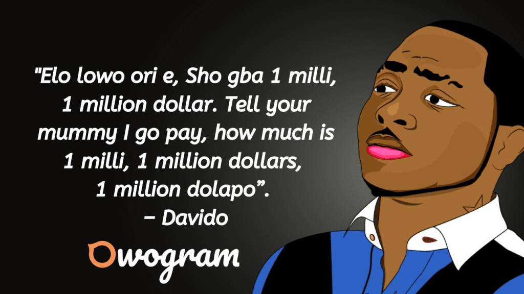 Picture quotes of davido