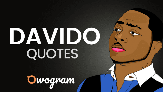 Davido quotes about money and life