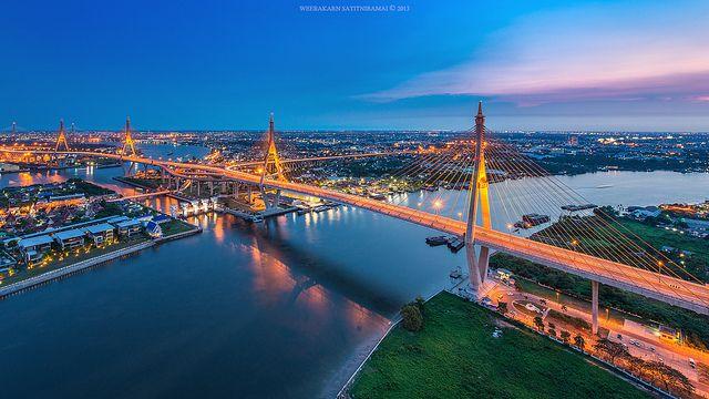 Longest Bridges-Bhumibol Bridge