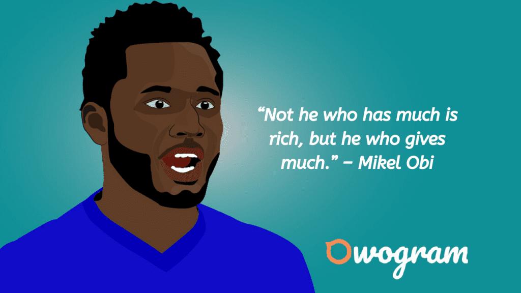 Obi mikel quotes