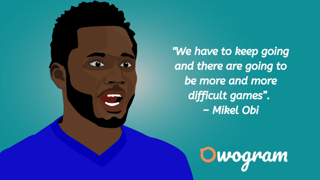 Quotes by Mike Obi