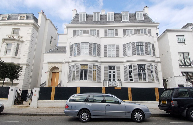 Most Expensive Houses - Upper Phillimore Gardens
