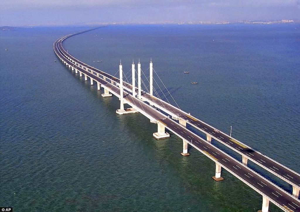 The Longest Bridge-Danyang-Kunshan Grand Bridge