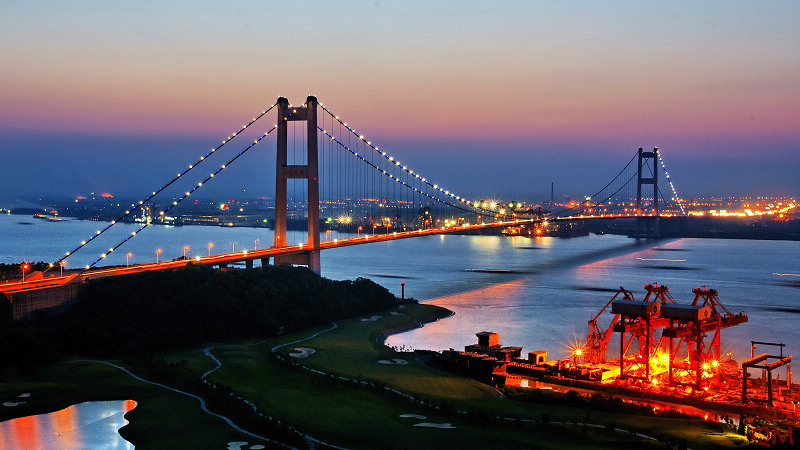 The Runyang Yangtze River Bridge