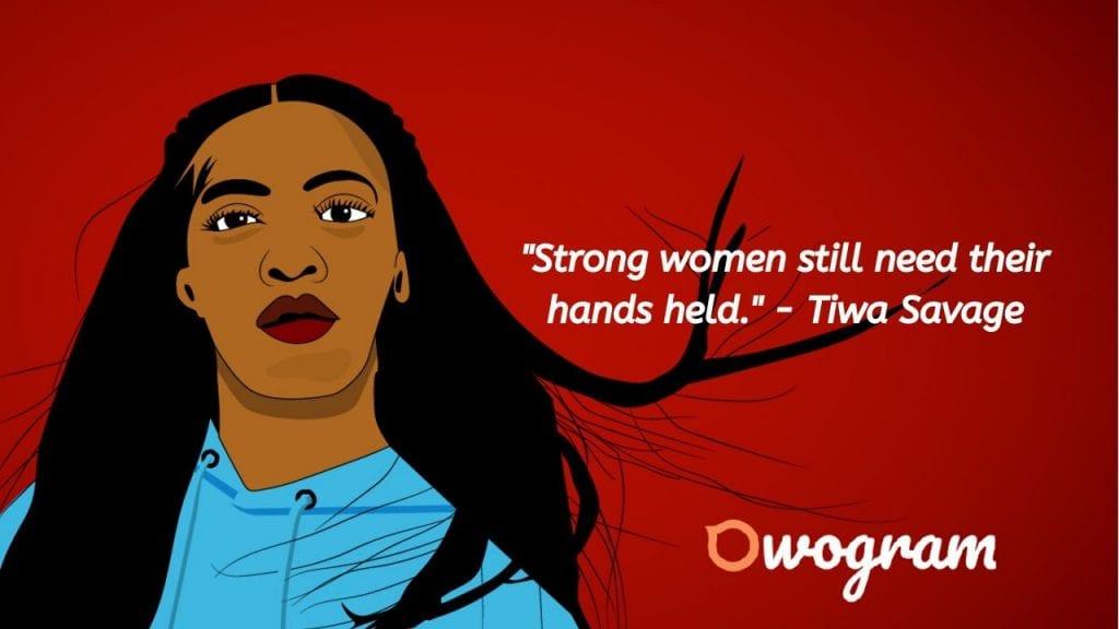 Wise sayings by Tiwa Savage