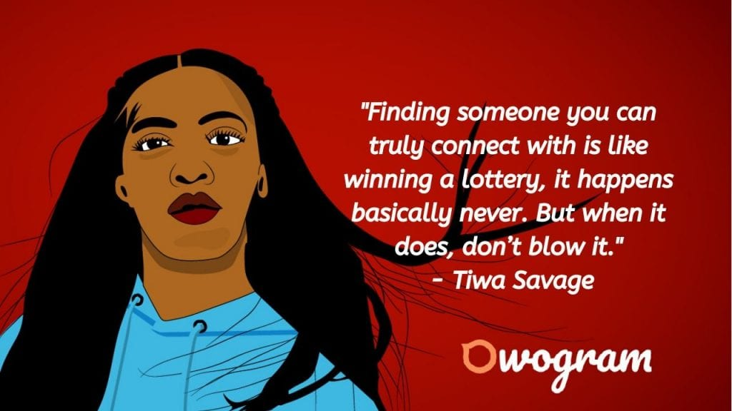 Quotes from Tiwa Savage