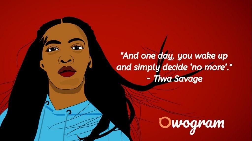 Tiwatope Savage wise sayings