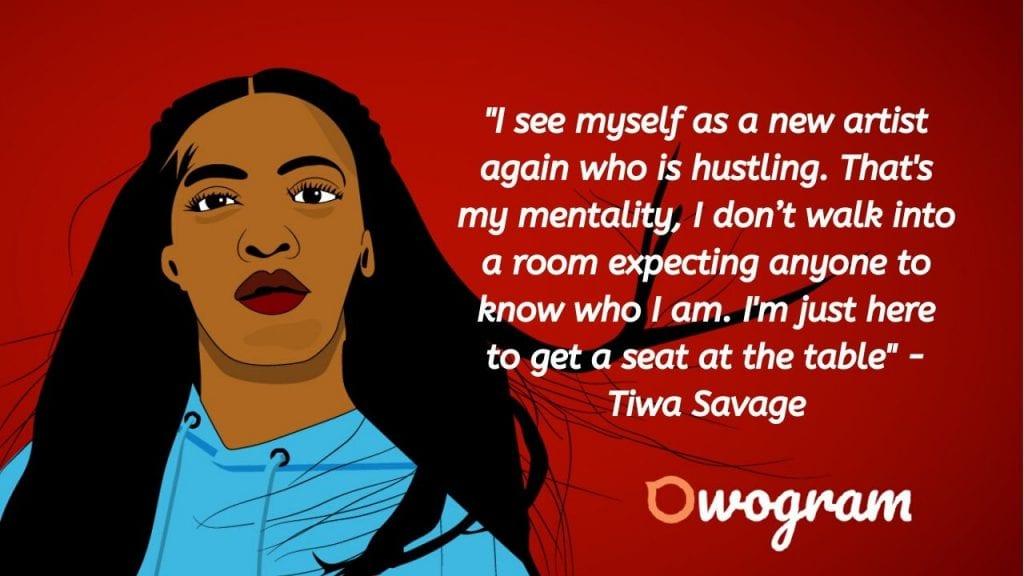 Excerpts by Tiwa Savage