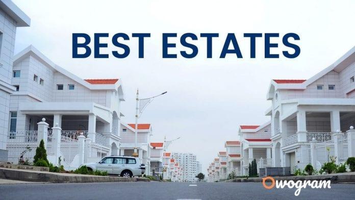 Best estates in Lagos