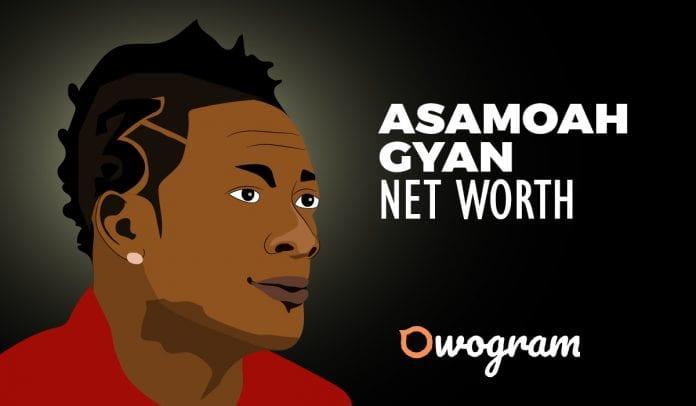 Asamoah Gyan net worth