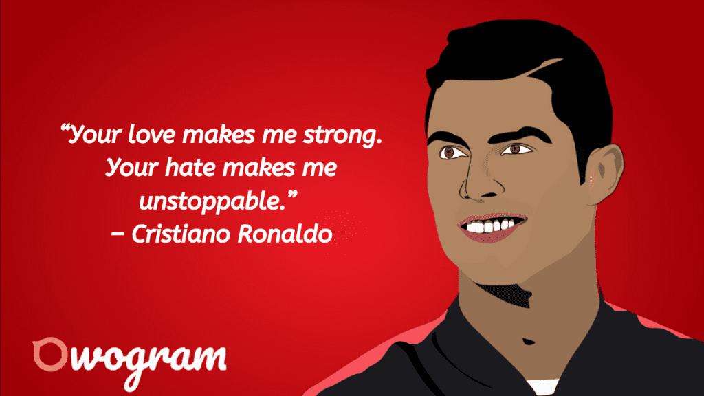 quotes from cristiano ronaldo