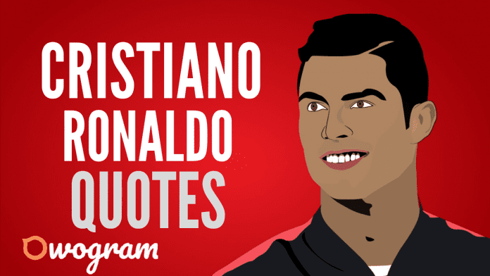 Motivational quotes from Cristiano Ronaldo about success and life
