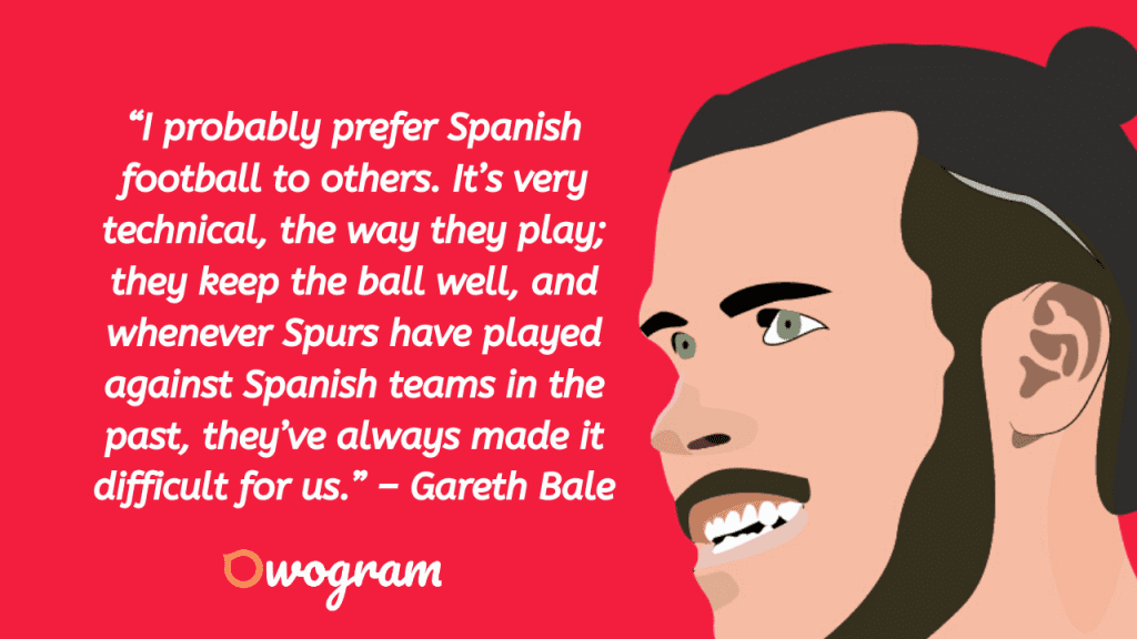 Quotes by Gareth Bale
