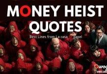 La Casa de Papel Quotes from Money Heist