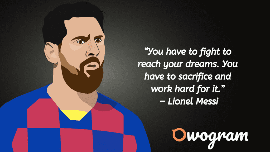 Lionel Messi Picture Quotes