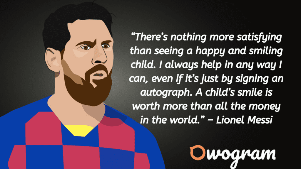 Messi Picture Quotes