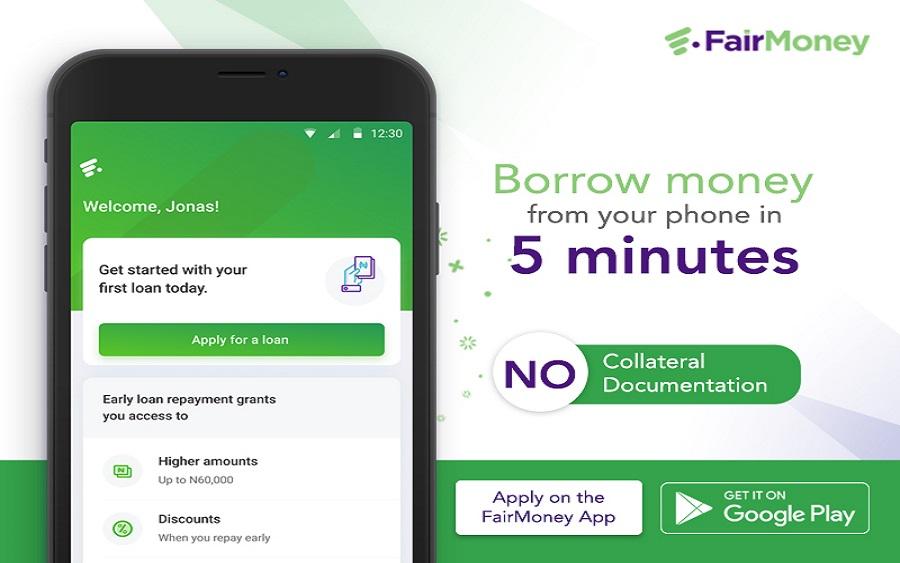 Loan apps in Nigeria - Fair Money