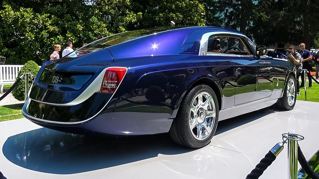 Most Expensive Car - Rolls Royce Sweptail
