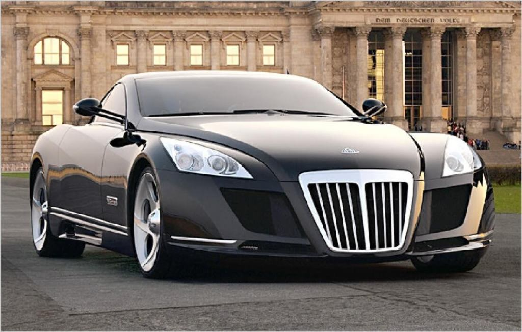 Luxurious Cars - Mercedes Benz Maybach Exelero