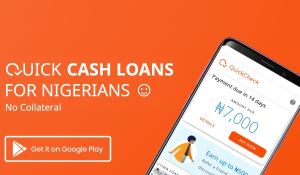 Quick Check Cash Loan for Nigerians