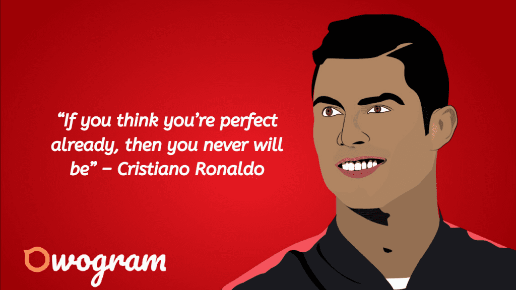Inspirational quotes from Cristiano Ronaldo