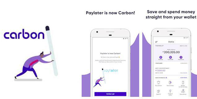 Loan apps in Nigeria - Carbon loan app