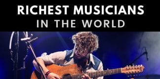 Top 20 Richest Musicians in the World