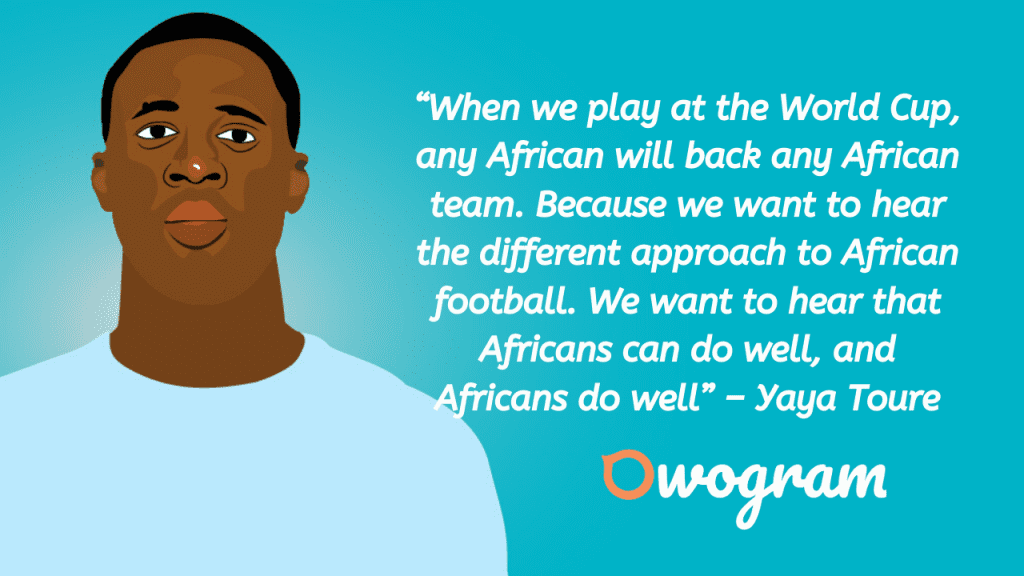 Wise words from Toure