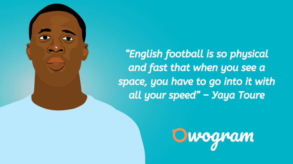 Wise sayings from Toure