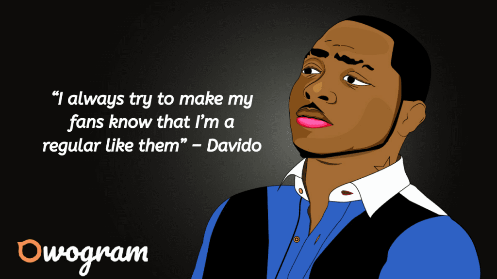 Sayings by Davido