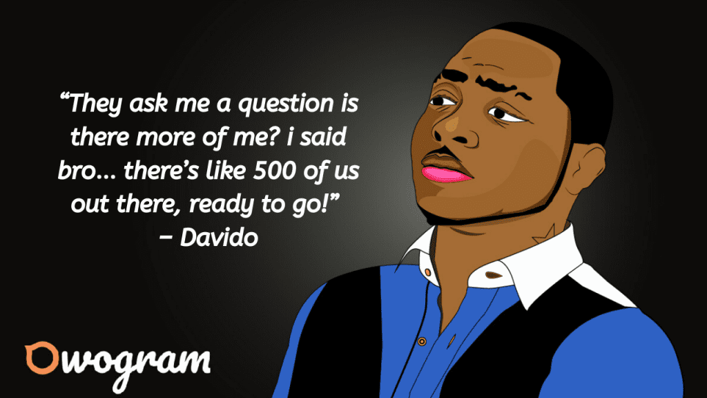 Quotes from Davido
