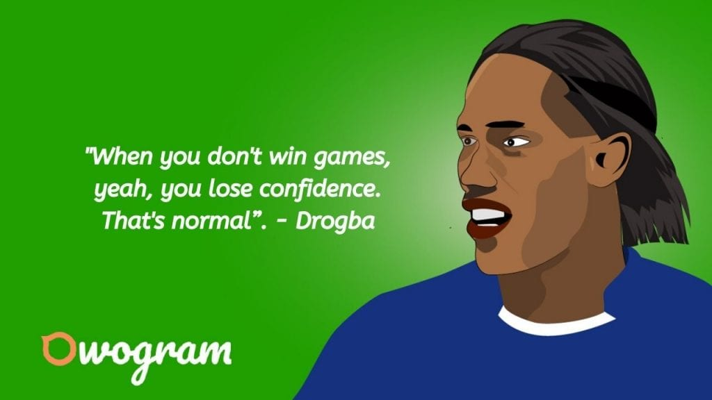 Quotes from Drogba