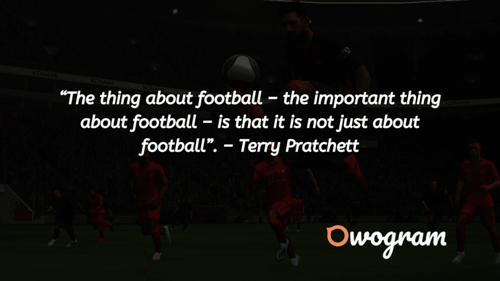 Football Quotes About sports